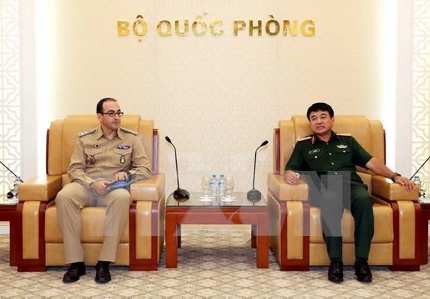 Vietnam dispuesto a continuar enviando soldados para operaciones de paz de la ONU hinh anh 1