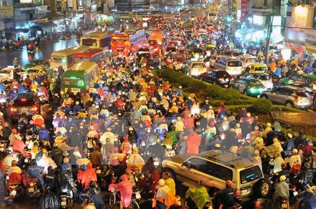 Ciudad Ho Chi Minh creara mapa digital para reducir atascos hinh anh 1