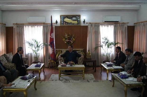 Votos por impulso de relaciones Vietnam - Nepal hinh anh 1