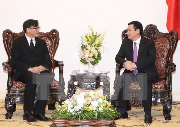 Vietnam sugiere pronto establecimiento de acuerdo laboral con Tailandia hinh anh 1
