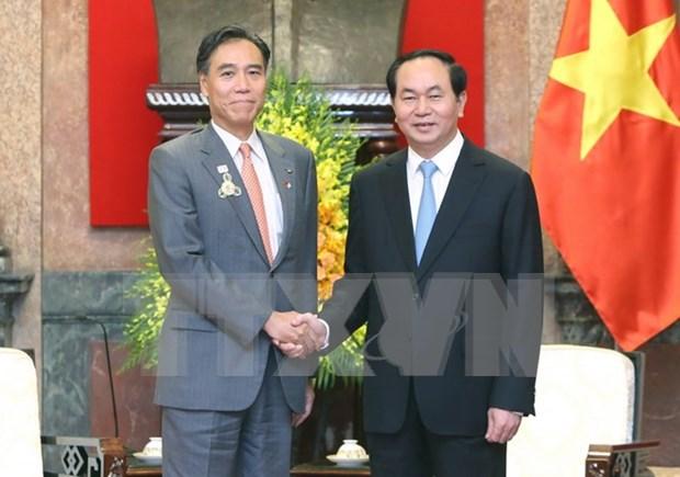 Considera Vietnam a Japon como socio de primera fila hinh anh 1