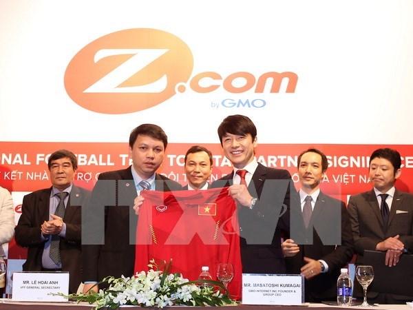 Buen desarrollo de cooperacion Vietnam – Japon en el futbol hinh anh 1