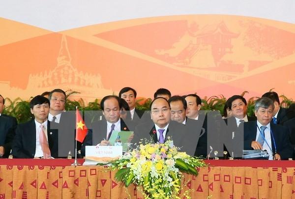 Paises de Mekong acordaron medidas para impulsar cooperacion en todas las esferas hinh anh 1