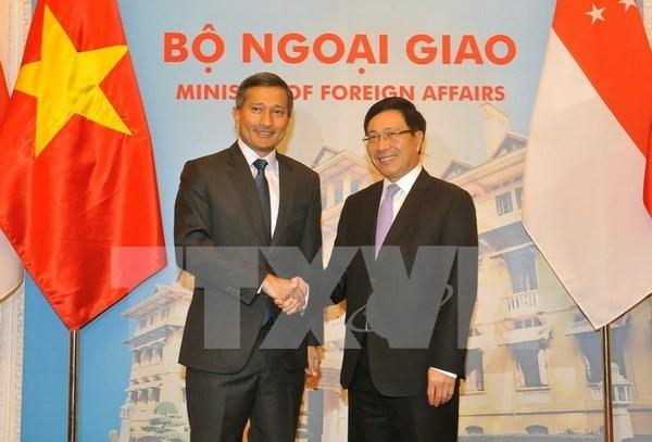 Vietnam y Singapur buscan nuevas orientaciones para reforzar cooperacion bilateral hinh anh 1