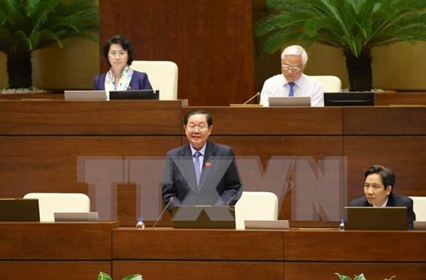 Diputados vietnamitas examinan el borrador de la Ley de Asociaciones hinh anh 1