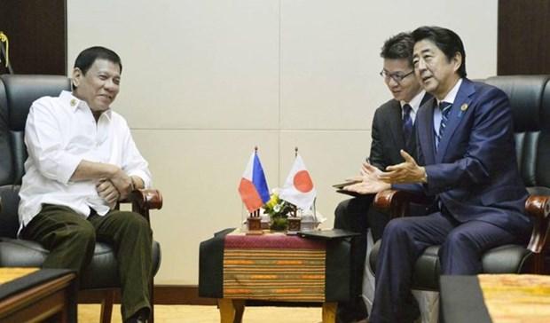 Acuerdan Japon y Filipinas cooperacion en seguridad maritima y economia hinh anh 1