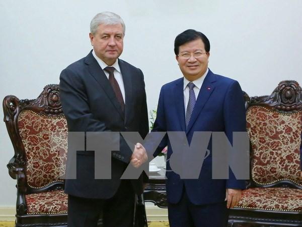 Vietnam y Belarus determinan fomentar lazos bilaterales hinh anh 1