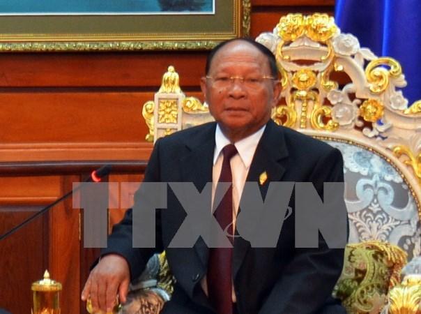 Destacan buen desarrollo de lazos de amistad y cooperacion Vietnam-Camboya hinh anh 1