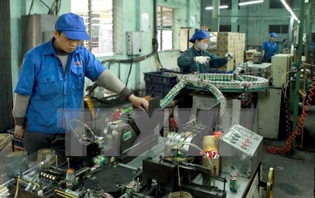 Ligero aumento de Indice de Produccion Industrial de Hanoi hinh anh 1