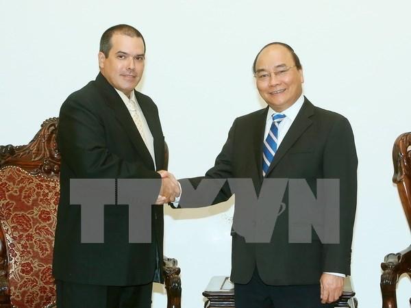 Premier de Vietnam aboga por una mayor cooperacion entre VNA y Prensa Latina hinh anh 1