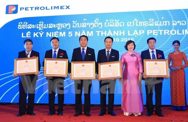 Buenos resultados de negocio de empresa petrolera de Vietnam en Laos hinh anh 1