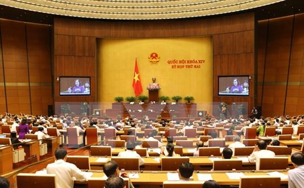Vietnam:Parlamento discute leyes de Responsabilidad del Estado y Asistencia Juridica hinh anh 1
