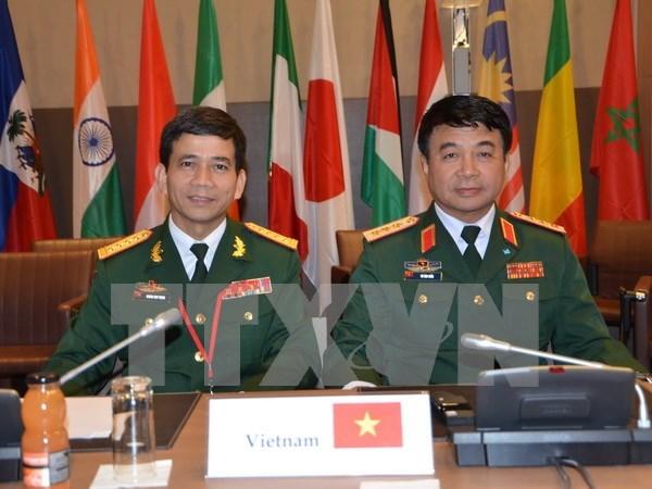 Vietnam participa en reunion sobre el mantenimiento de la paz de la ONU hinh anh 1