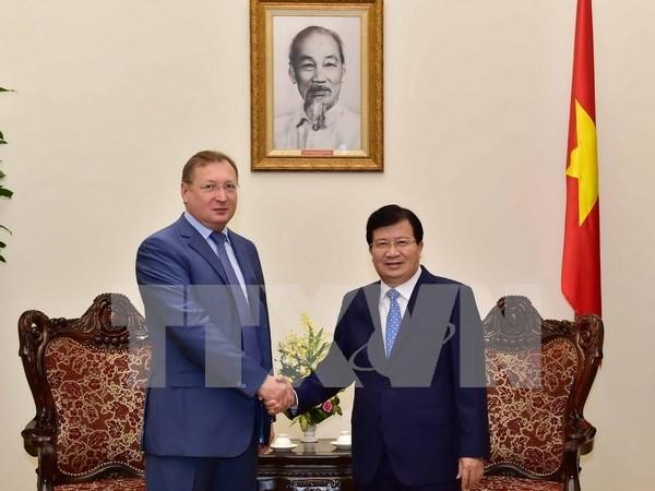Vietnam y Rusia buscan una cooperacion mas estrecha en el sector petrolero hinh anh 1