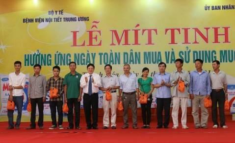 Responde Thanh Hoa al dia nacional de uso de la sal yodada hinh anh 1