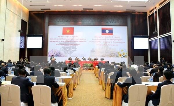 Vietnam y Laos acuerdan intercambiar experiencias sobre movilizacion de masas hinh anh 1