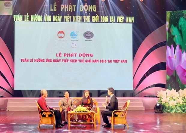 Vietnam responde al Dia Mundial del Ahorro hinh anh 1