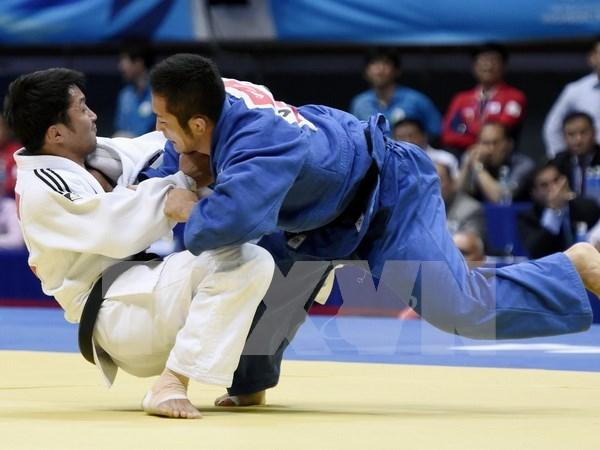 Inauguran campeonato internacional de judo en Ciudad Ho Chi Minh hinh anh 1