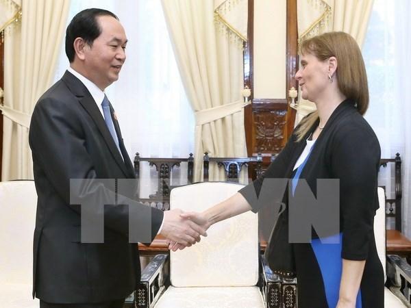 Presidente vietnamita urge acelerar negociones para firmar acuerdo con Israel hinh anh 1