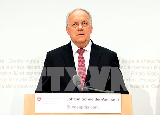 Presidente de Suiza: Relaciones con Vietnam son cada vez mejores hinh anh 1