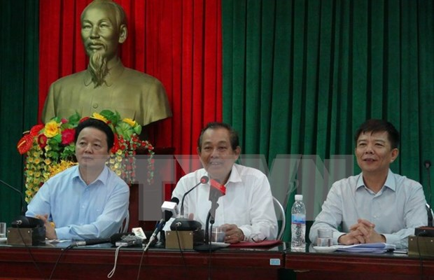 Recompensan a pobladores afectados por incidente ambiental en Vietnam hinh anh 1