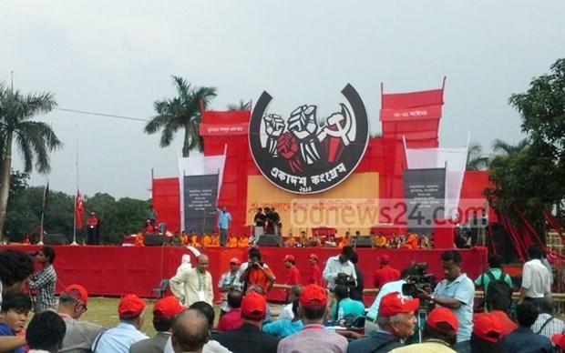 Vietnam participa en Congreso del Partido Comunista de Banglades hinh anh 1