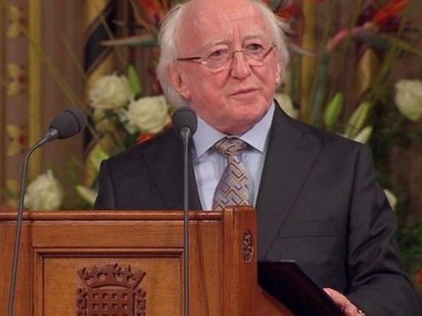 Presidente de Irlanda visitara Vietnam hinh anh 1