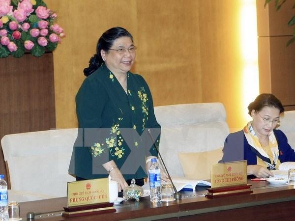 Dirigente parlamentaria urge a preservar identidades de etnias minoritarias hinh anh 1