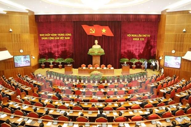 Partido Comunista de Vietnam determinado a fortalecer sus filas hinh anh 1
