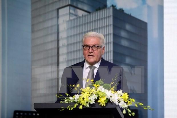 Ministro aleman reitera compromiso de cooperacion con Vietnam hinh anh 1