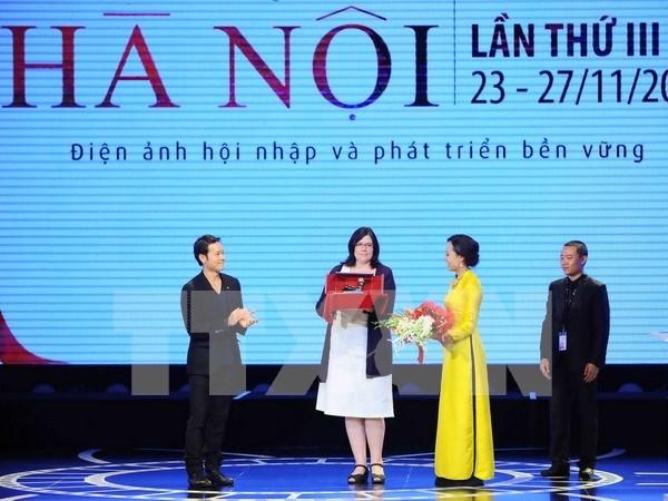 Cineastas se dan cita en IV Festival internacional de Cine de Hanoi hinh anh 1