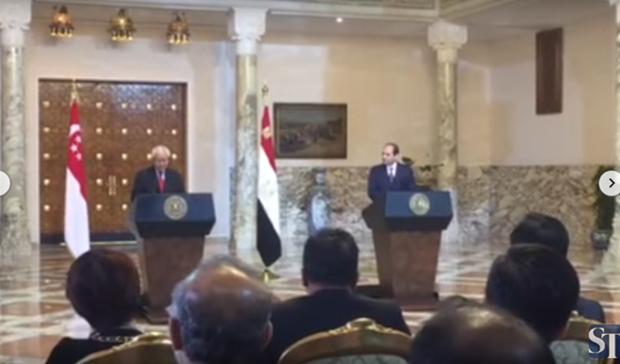 Singapur y Egipto impulsan cooperacion comercial hinh anh 1