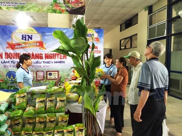 Primera exhibicion sobre alimentos, bebidas y embalaje en Hanoi hinh anh 1
