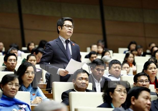Parlamento de Vietnam centra sesion de trabajo en asuntos economicos hinh anh 1