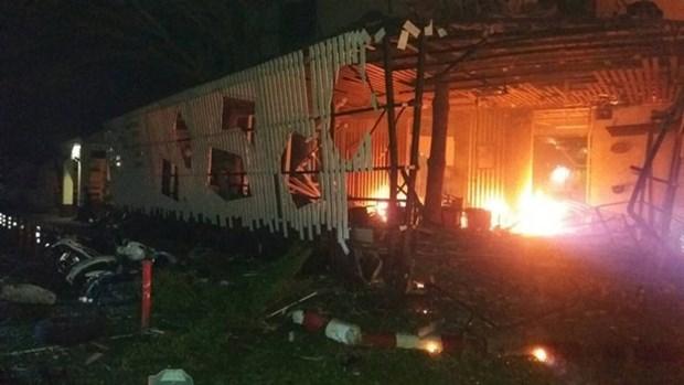 Tres muertos en una cadena de atentados en el sur de Tailandia hinh anh 1