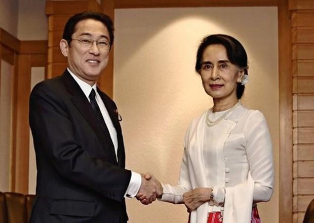 Japon apoya los esfuerzos para poner fin a conflicto etnico en Myanmar hinh anh 1