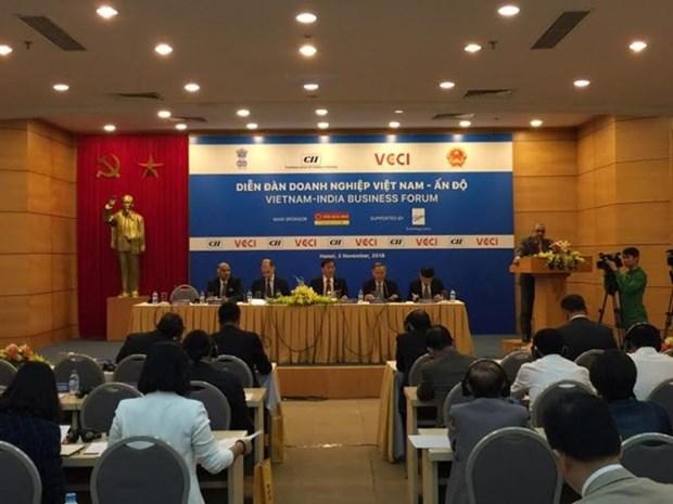 Foro impulsa la cooperacion comercial entre Vietnam e India hinh anh 1