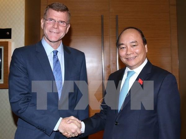 BAD promete continuar apoyando al crecimiento economico de Vietnam hinh anh 1