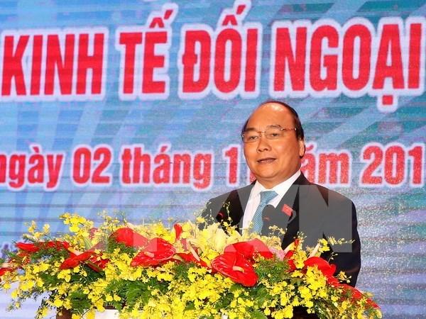 Premier de Vietnam ratifica compromiso con renovacion de economia nacional hinh anh 1