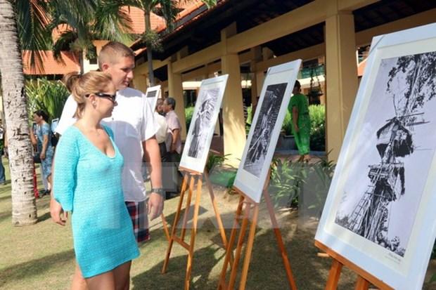 Exponen mejores 100 fotos sobre patrimonios de Vietnam hinh anh 1