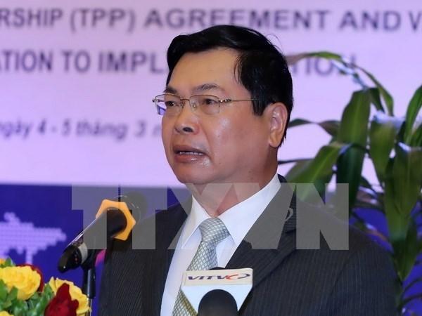 Secretaria del Partido pone disciplinas al exministro de Industria y Comercio hinh anh 1