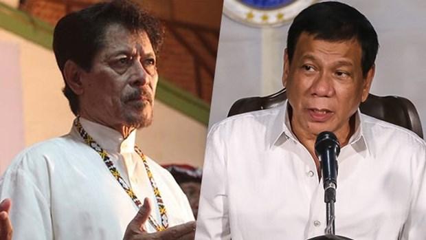 Presidente filipino se reune con lider de MNLF hinh anh 1