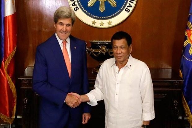 John Kerry confia en futuro de relaciones Estados Unidos-Filipinas hinh anh 1