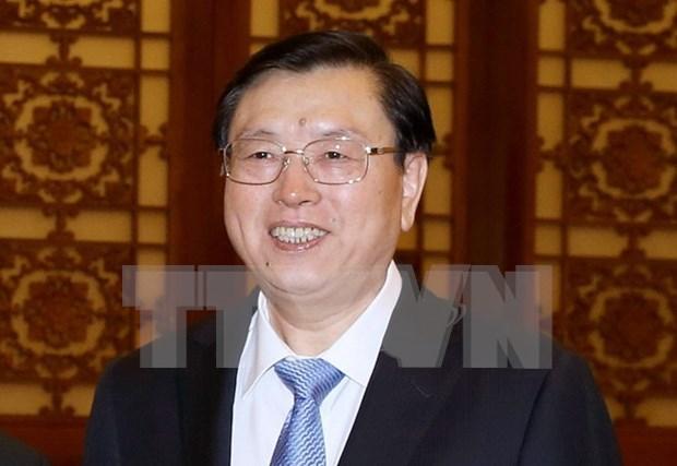 Presidente de Asamblea Popular Nacional de China visitara Vietnam hinh anh 1