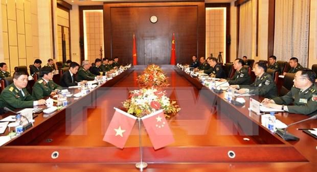 Vietnam y China realizan dialogo estrategico de defensa a nivel viceministerial hinh anh 1