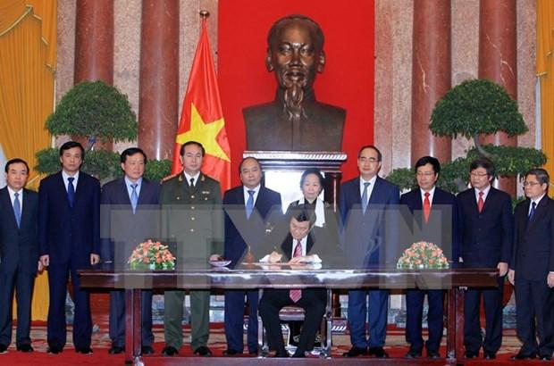 Resaltan el significado y valores de la primera Constitucion de Vietnam hinh anh 1