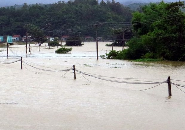 Mas provincias en la region central afectadas por inundaciones hinh anh 1