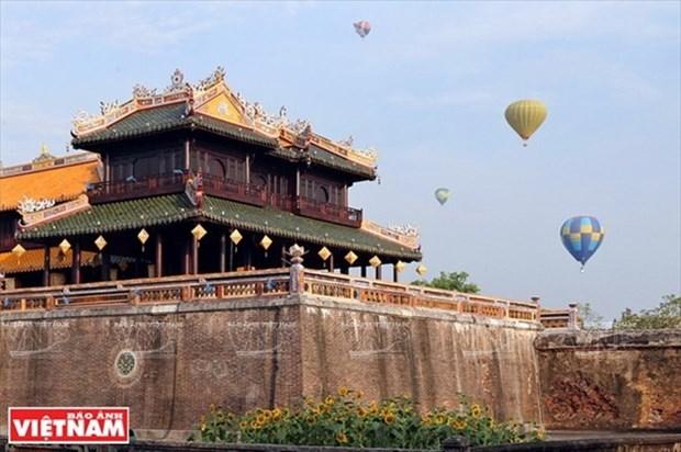 Antigua ciudadela imperial de Hue recibe cerca de tres millones de turistas hinh anh 1