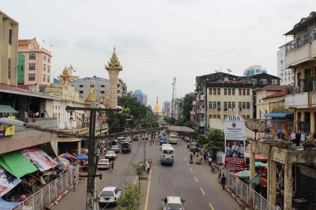 Planean expandir la ciudad de Rangun en Myanmar hinh anh 1
