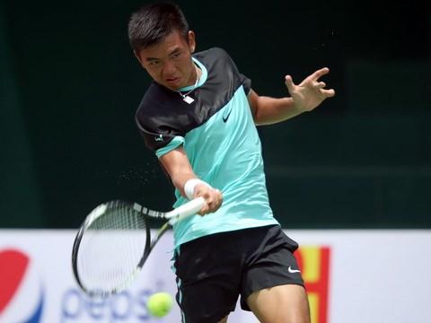 Ly Hoang Nam gana el segundo titulo en torneo internacional de tenis hinh anh 1
